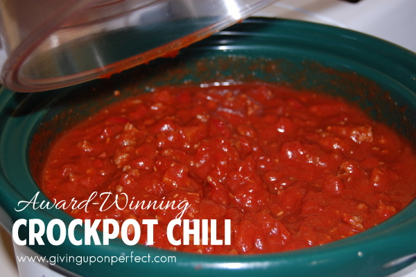 Award-Winning Cold-Weather Chili