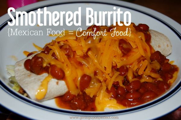 Monday Morning Mmmm: Smothered Burrito
