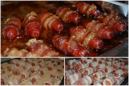 If you like bacon, make these bacon-wrapped little smokies . Making ...