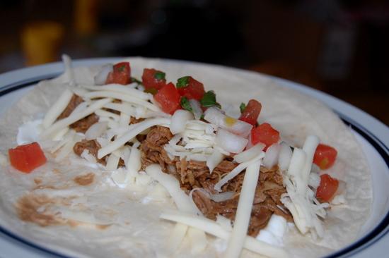 Monday Morning Mmmm: Shredded Beef Tacos