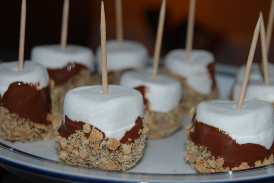 Easy S'mores Pops