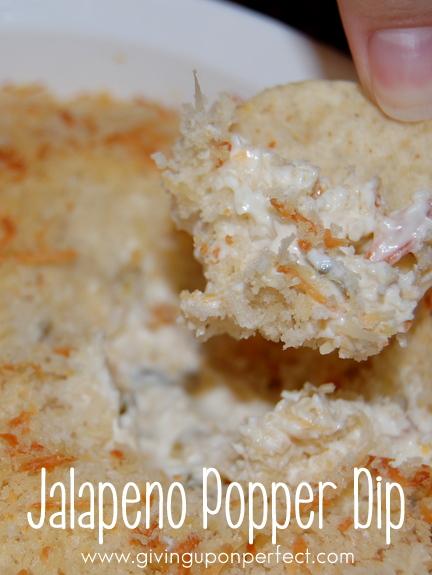 Monday Morning Mmmm: Jalapeno Popper Dip