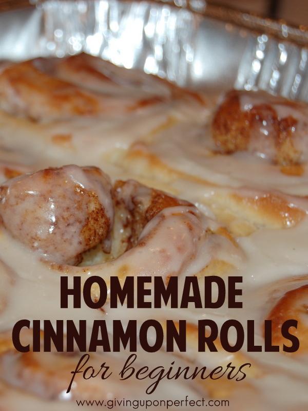 Homemade Cinnamon Rolls for Beginners