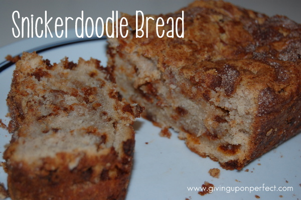 Snickerdoodle Bread sliced
