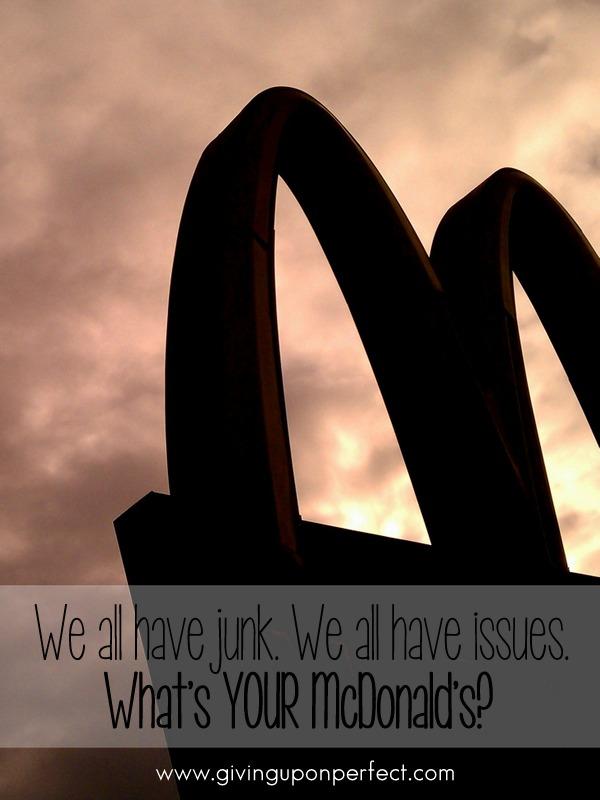 It's all McDonald's.