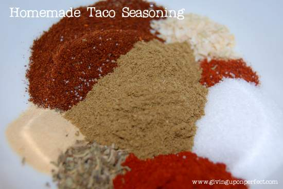 Monday Morning Mmmm: Taco Seasoning