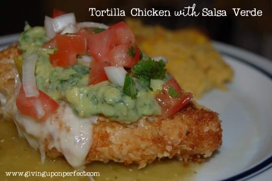 Monday Morning Mmmm: Tortilla Chicken