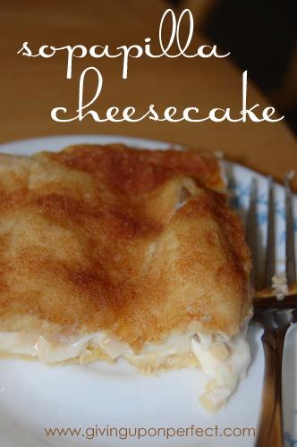 Monday Morning Mmmm: Sopapilla Cheesecake