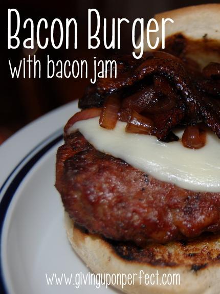 Monday Morning Mmmm: Bacon Burgers