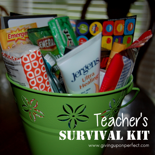making a teacher survival kit mary carver