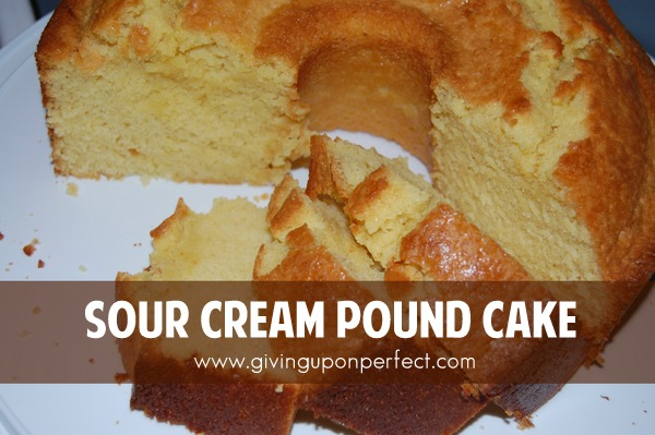 Chocolate Sour Cream Pound Cake Recipe