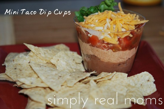 Mini 7-Layer Dip Cups