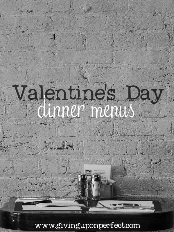 What's for {Valentine's} Dinner?