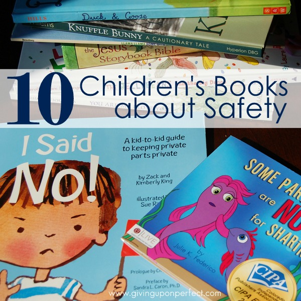 10 Children's Books About Stranger Danger and Safety Rules