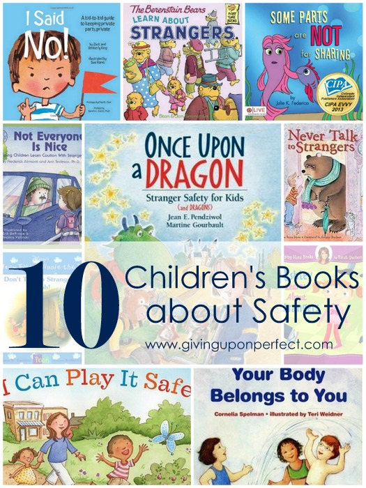 10 Children's Books about Stranger Danger & Safety