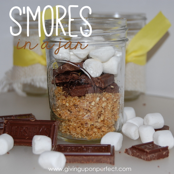 S'mores in a Jar + 16 More S'mores Recipes