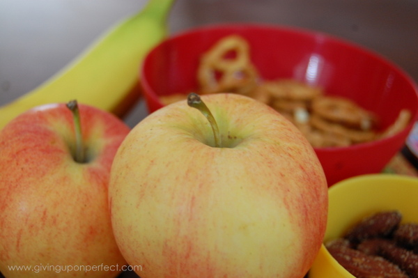 snack apples