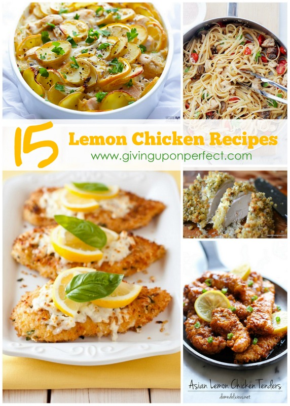 15 Delicious Lemon Chicken Recipes