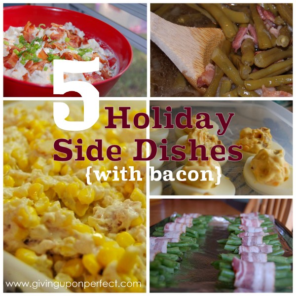 5 Sides Dishes Perfect for Your Holiday Dinner