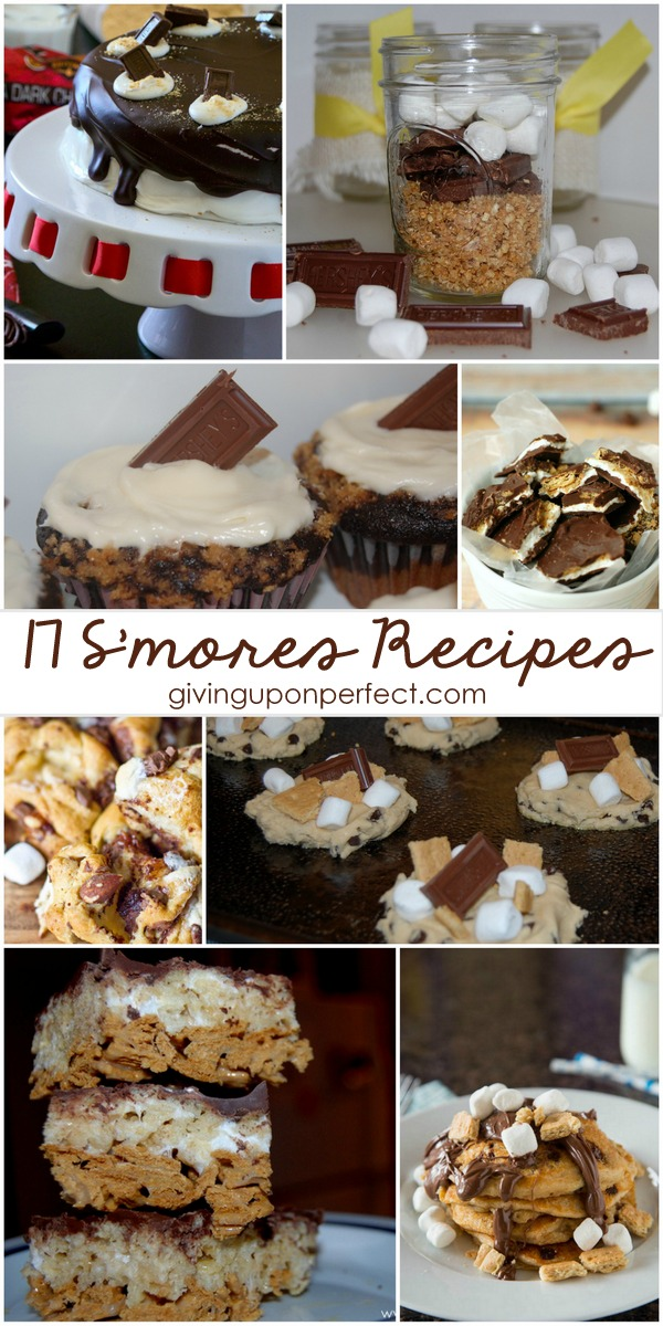 17 S'mores-Themed Recipes