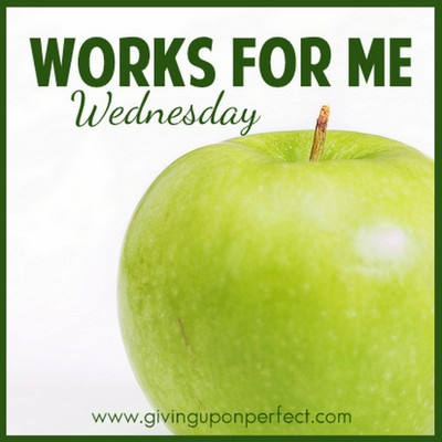 Works for Me Wednesday :: Giving Up on Perfect