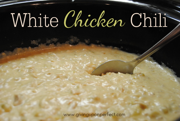 Family Recipe Friday: White Chicken Chili