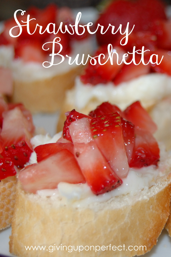 Family Recipe: Strawberry Bruschetta