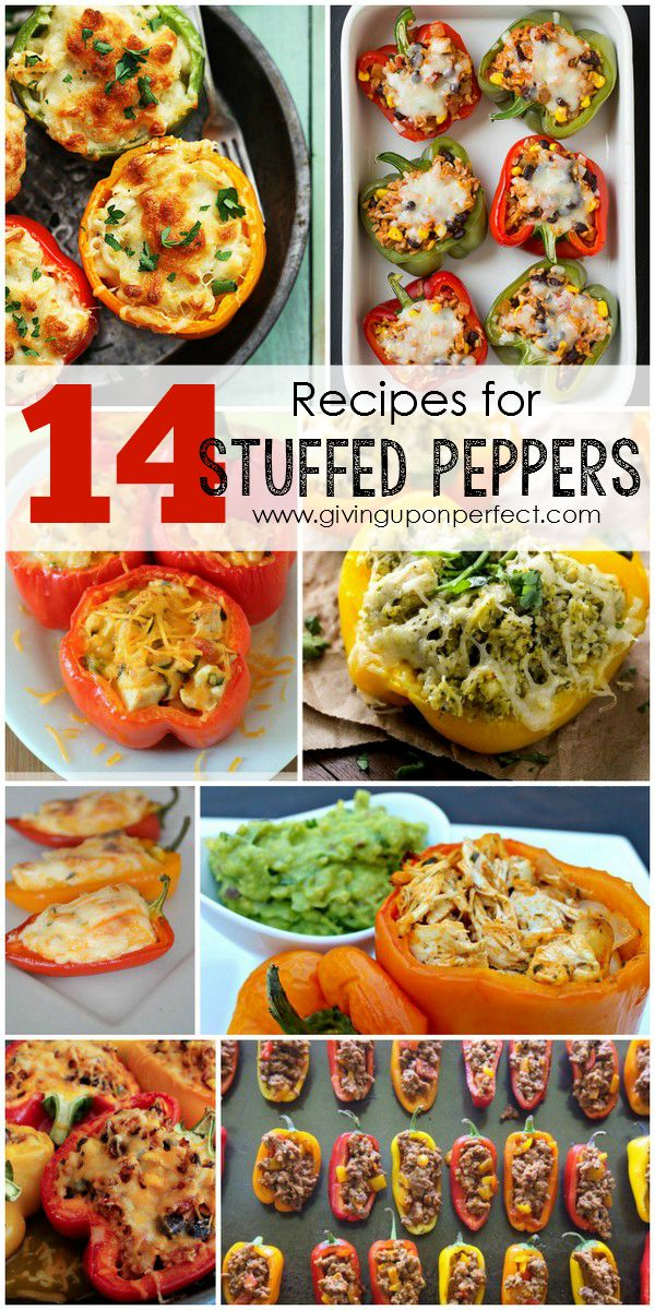 14 Simple & Savory Recipes for Stuffed Peppers