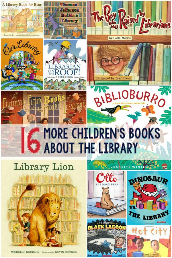 Reading to Your Kids & More Books About the Library