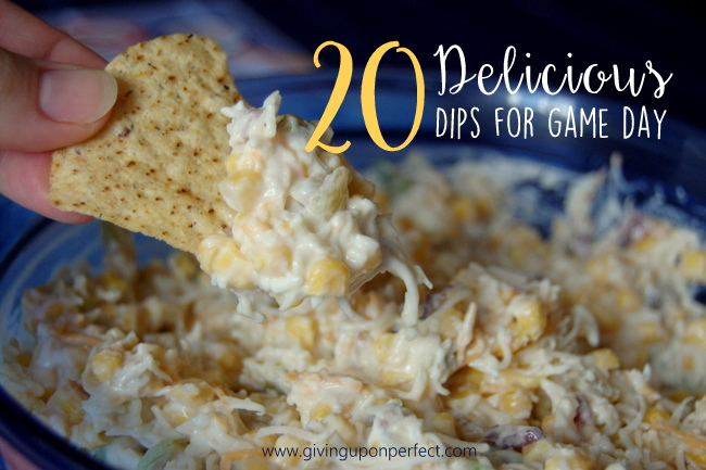 20 Delicious Dips for Game Day