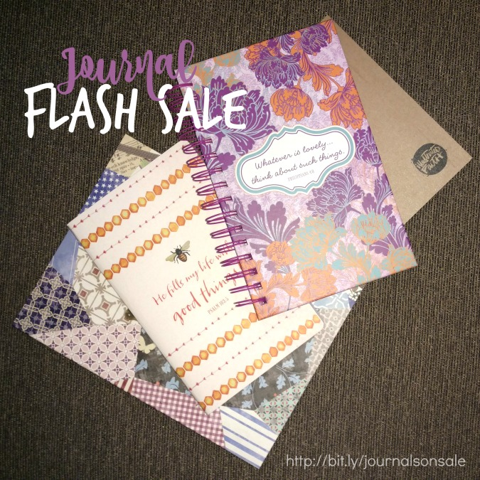 $5 FLASH SALE on Dayspring Journals