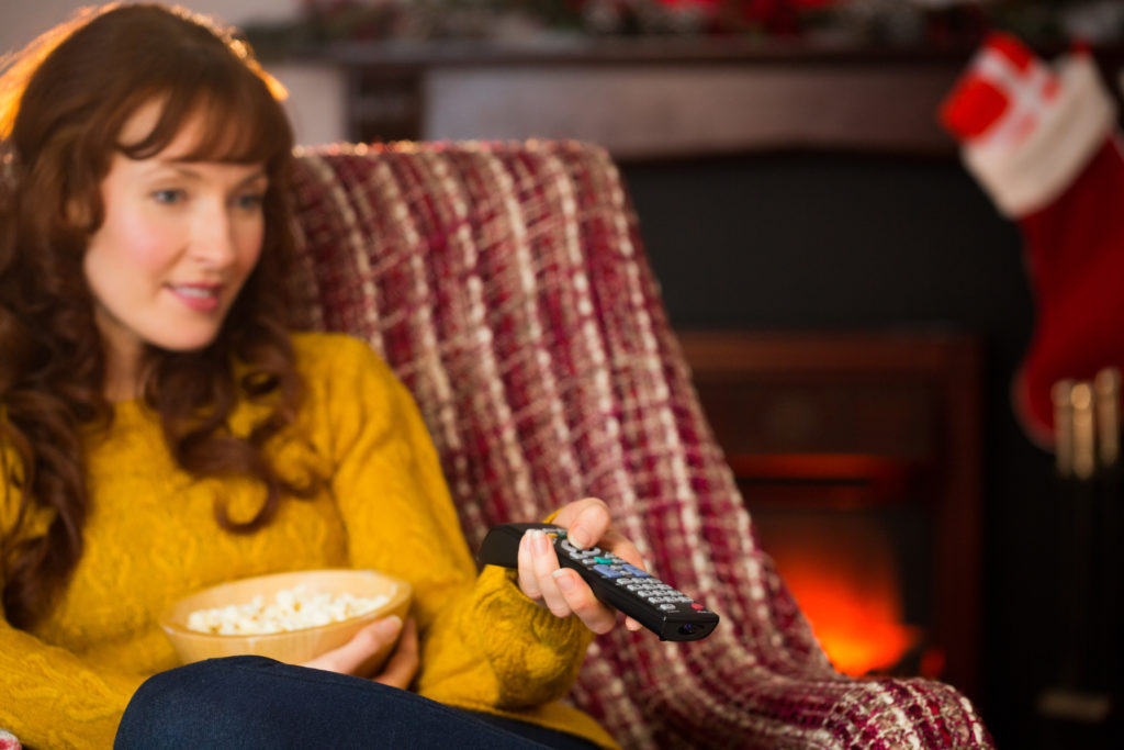Why We Love Hallmark Christmas Movies So Much (and free printable schedule) | marycarver.com