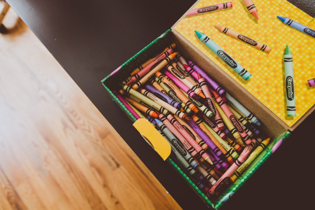 23 Colorful Books about Crayons, Paint, and Other School Supplies